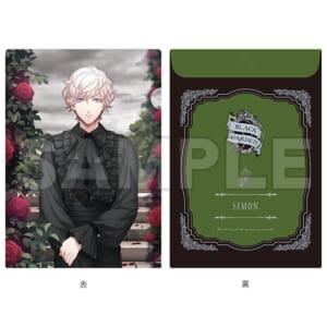 「HE★VENS GARDEN」HE★VENS 封筒型クリアファイル BLACK GARDEN Ver. 天草シオン as シモン