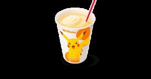 「ポケットモンスター×マクドナルド」マックシェイク® 黄桃味(無果汁)