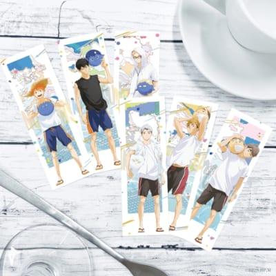 「ハイキュー!! TO THE TOP×文房具カフェ」特典ドリンクタグ(全12種)