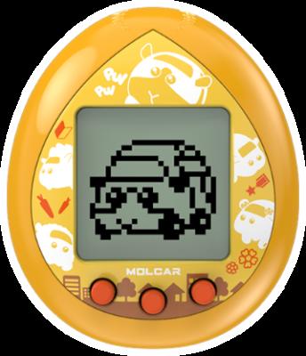 「PUI PUI モルカー」PUI PUI モルカっちオレンジカラー