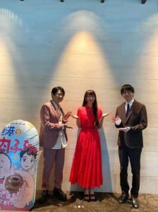 Cocomiさん、花江夏樹さん、下野紘さん