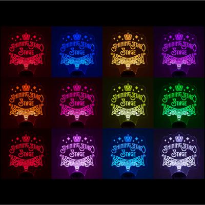 「うたの☆プリンスさまっ♪ SHINING STAR STAGE -LOVE in DREAM-」特製プレートライト 点灯