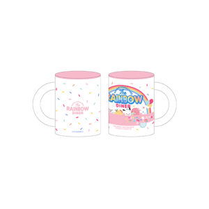 「SANRIO CHARACTERS the Rainbow Diner by Etoile et Griotte」マグカップ