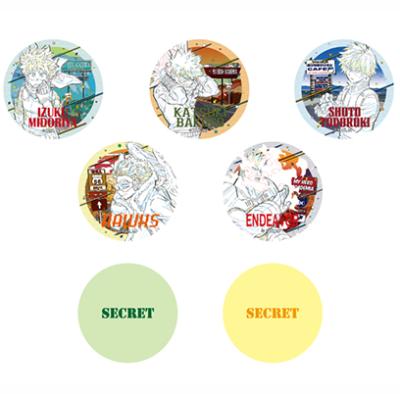 「劇場版『ワールドヒーローズミッション』公開記念フェア in 東急ハンズ」トレーディング缶バッジ