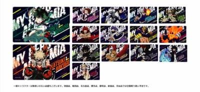 「劇場版『ワールドヒーローズミッション』公開記念フェア in 東急ハンズ」貼って剥がせるカード型ステッカー