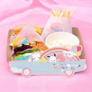 「SANRIO CHARACTERS the Rainbow Diner by Etoile et Griotte」サンリオキャラクターズ レインボーベーグルサンドBOX