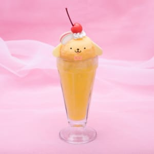 「SANRIO CHARACTERS the Rainbow Diner by Etoile et Griotte」ポムポムプリン レモネードフロート