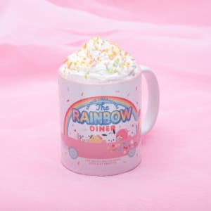 「SANRIO CHARACTERS the Rainbow Diner by Etoile et Griotte」サンリオキャラクターズ クリーミーカフェラテ