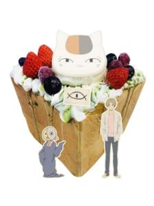 「夏目友人帳×パセラ」おうちでコラボカフェ ハニトーアクリルキーホルダーセット