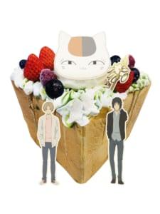 「夏目友人帳×パセラ」おうちでコラボカフェ ハニトーオリジナル缶バッジミラーセット
