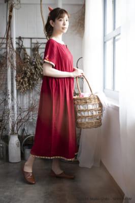 Donguri Closet 限定 借りぐらしのアリエッティ リラックスウェア 花咲くお庭のワンピース