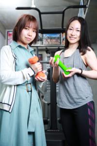 オタク向け女性専門パーソナルトレーニングジム「Clara(クララ)」代表:SAKU、トレーナー代表:Tame.