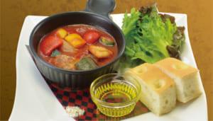 「刀剣乱舞-ONLINE-」宴 おかわり! 加州清光のオシャレなトマト煮込み ~フォカッチャを添えて~