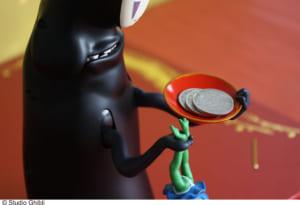 「千と千尋の神隠し」もっと!むしゃむしゃ貯金箱 使用イメージ2