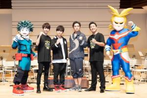 TVアニメ「僕のヒーローアカデミア(ヒロアカ)」ウインドオーケストラコンサート 2019年に開催された初演の様子