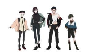 TVアニメ「ヴィジュアルプリズン」LOS†EDEN(ロストエデン)私服