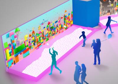 体験型企画展「POKÉMON COLORS」COLORS CITY