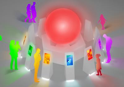 体験型企画展「POKÉMON COLORS」COLORS CIRCLE