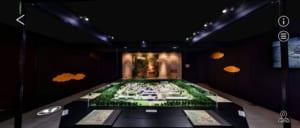「刀剣乱舞-本丸博-2020」オンライン会場 とある本丸の間