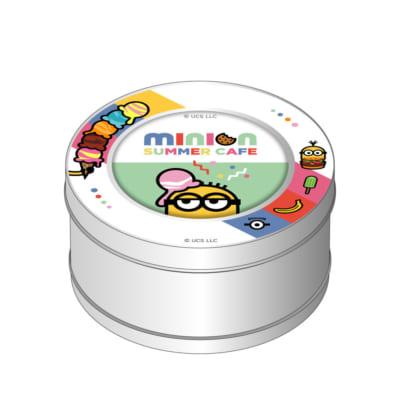 「MINION SUMMER CAFE」マグネット付きキャンディ缶