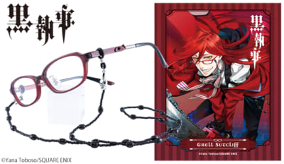 「黒執事×執事眼鏡eyemirror」グレル・サトクリフ モデル
