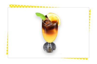 「家庭教師ヒットマンREBORN!」×SMILE BASE CAFE リボーン&ツナ オレンジエスプレッソ