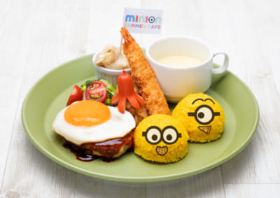 「MINION SUMMER CAFE」ミニオン・ランチプレート
