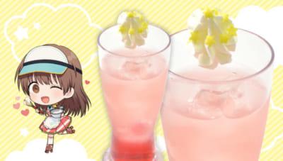 TVアニメ「うらみちお兄さん」×「アニメイトカフェ」うたのお姉さんのクランベリードリンク