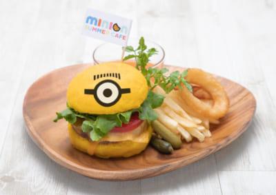 「MINION SUMMER CAFE」ミニオン・チーズバーガー