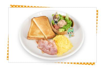 「家庭教師ヒットマンREBORN!」×SMILE BASE CAFE リボーンも大絶賛!沢田家の朝食セット