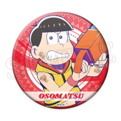 おそ松さんのWEBくじ第11弾「ルナティックキャンプナイト」E賞:缶バッジ おそ松