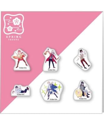 「A3! x ZOZOTOWNコレクション」オリジナルピンズセット 春組