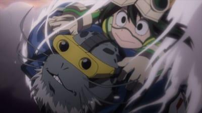 アニメ「ヒロアカ」第5期 第16話「お久しぶりですセルキーさん」先行カット(セルキー&蛙吹梅雨)