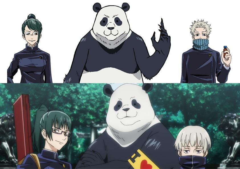 パンダはパンダ「呪術廻戦 0」真希&棘の髪型や制服が違う1年時の設定画!