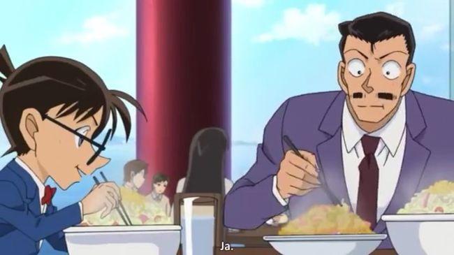 """「名探偵コナン」""""食""""についての質問受付開始!「黒ずくめの組織のメンバーは普段何食べてますか」"""