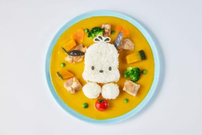 「サンリオ展×THE SUN & THE MOON」ポチャッコのかぼちゃシチュー