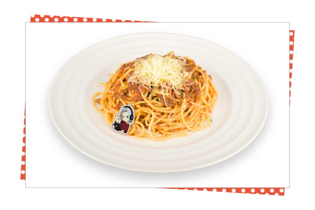 「家庭教師ヒットマンREBORN!」×SMILE BASE CAFE スモーキンボム イタリアンボロネーゼ