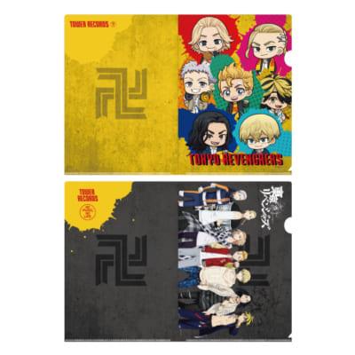 「東京リベンジャーズ×TOWER RECORDS CAFE」クリアファイルセット