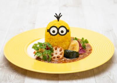 「MINION SUMMER CAFE」ミニオン・キーマカレー