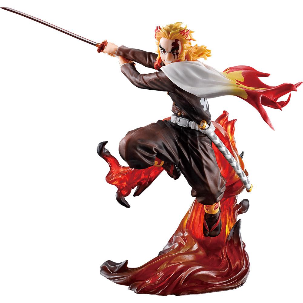「一番くじ 鬼滅の刃 ~刃を振るい心を燃やせ~」D賞 煉獄杏寿郎 フィギュア
