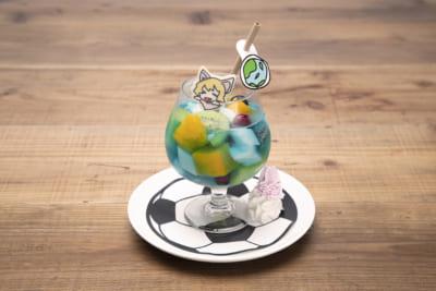 「喫茶ナポリ店(NAPOLITEN)」ペレちゃんのワールドカップポンチソーダ