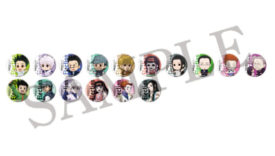 「HUNTER×HUNTER」選挙編×アニメイトカフェトレーディング缶バッジ
