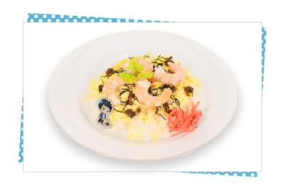「家庭教師ヒットマンREBORN!」×SMILE BASE CAFE 《竹寿司》特製! ちらし寿司