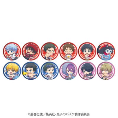 「『黒子のバスケ』POP UP SHOP in 東京キャラクターストリート」ミニキャラ新商品;缶バッジ(黒子)