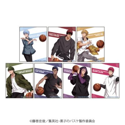 「『黒子のバスケ』POP UP SHOP in 東京キャラクターストリート」レギュラーアイテム;缶バッジ