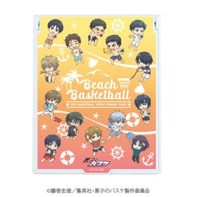 「『黒子のバスケ』POP UP SHOP in 東京キャラクターストリート」ミニキャラ新商品;デカキャラミラー(キセキ)