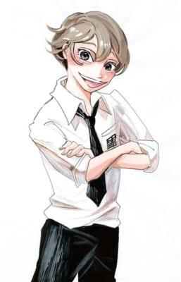 「SANDA」キャライラスト・明るい男の子
