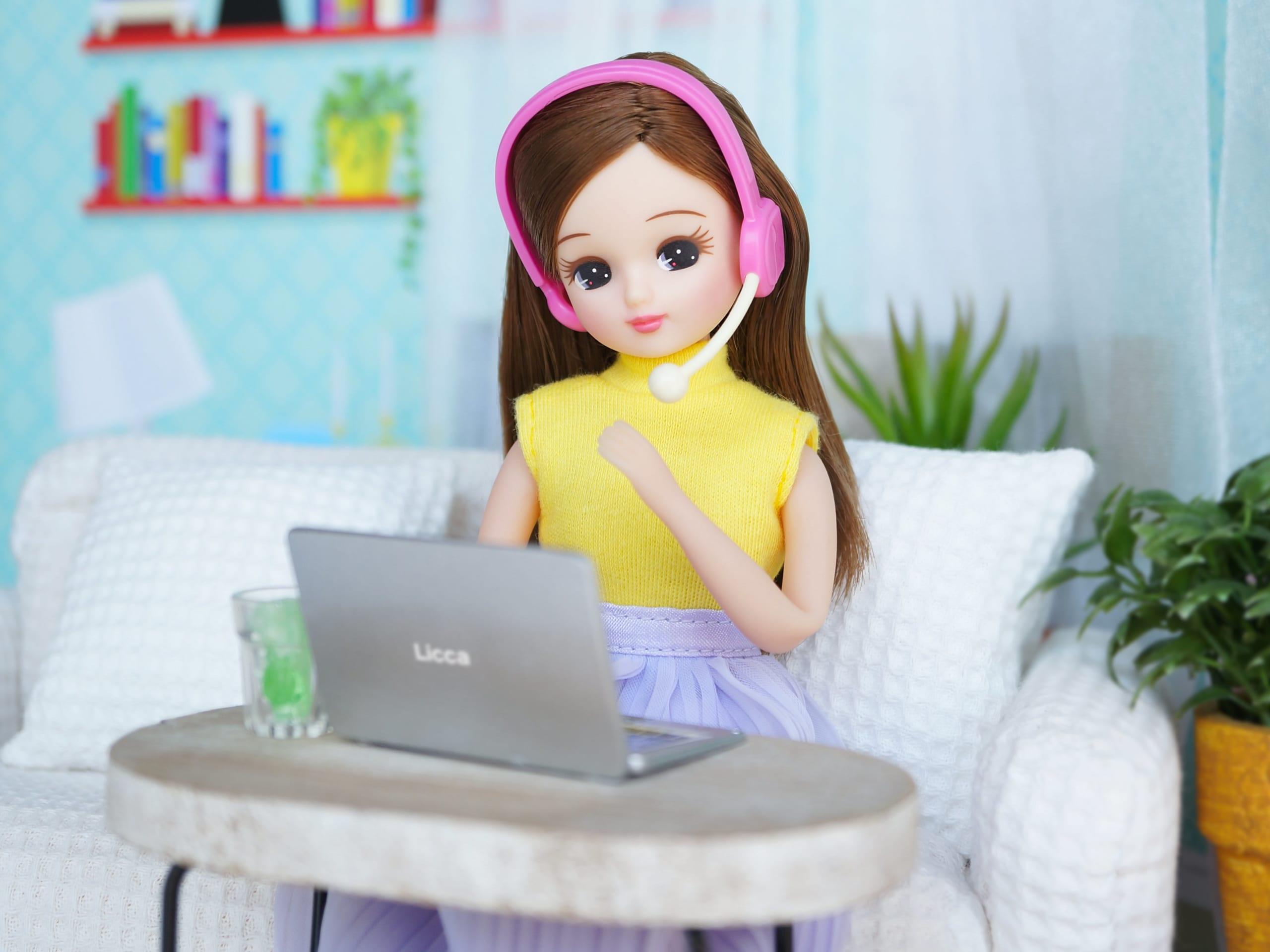 リカちゃん公式YouTube開設!モーニングルーティンや夏のお悩み相談室開催