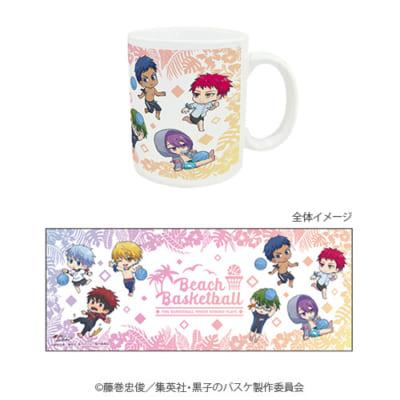 「『黒子のバスケ』POP UP SHOP in 東京キャラクターストリート」ミニキャラ新商品;マグカップ