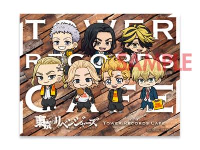 「東京リベンジャーズ×TOWER RECORDS CAFE」オリジナルステッカー